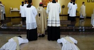 Ordenação Diaconal e Presbiteral dia 07 de maio