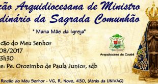 Formação Arquidiocesana de Ministros Extraordinários da Sagrada Comunhão