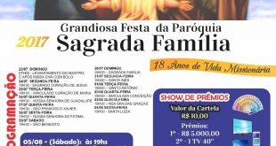 Festa da Paróquia Sagrada Família (Bairro Carumbé)