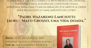 Lançamento do Livro sobre Padre Nazareno Lanciotti