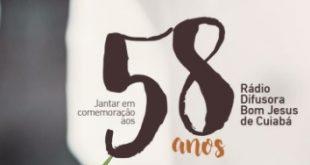 58 anos da Rádio Difusora Bom Jesus de Cuiabá