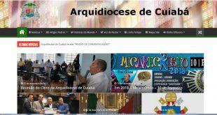 Aniversário Site da Arquidiocese de Cuiabá (13 anos)
