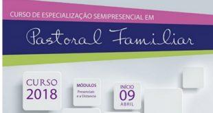 Especialização em Pastoral Familiar abre inscrições para 2ª turma