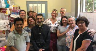 Paróquia Nsa Sra Mãe dos Homens realiza doações para Casa dos Migrantes
