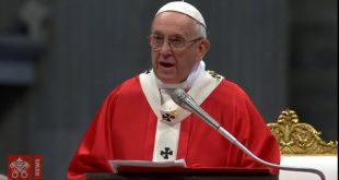 O Espírito Santo é a força divina que muda o mundo, afirma Papa.