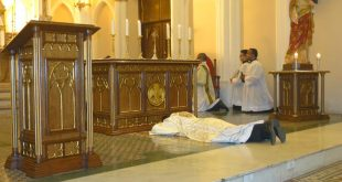 Tríduo em Preparação para a Ordenação Presbiteral