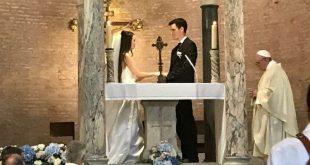 O Papa no meu casamento: o testemunho da noiva brasileira