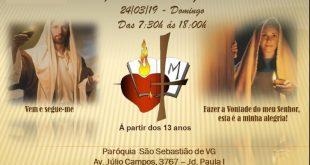 Encontro Vocacional  (Irmãs Agostinianas Servas de Jesus e Maria)