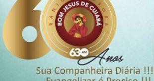 Rádio Difusora Bom Jesus de Cuiabá Rumo aos 60 Anos de Evangelização