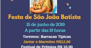 Festa da Igreja São João Batista!!
