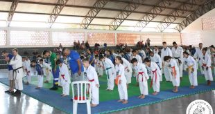Projeto de Karatê Lutando Pela Paz da Paróquia Santo Antônio de VG