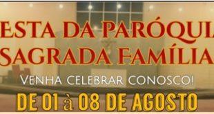 Festa na Paróquia Sagrada Família – Cuiabá MT