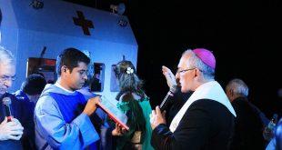 Dom Alberto Taveira inaugura Barco Hospital Papa Francisco