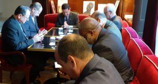 Presidente da CNBB se encontra com o vice-presidente Mourão em Roma.