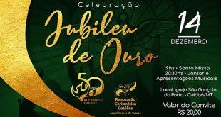 Celebração do Jubileu de Ouro da RCC (Arquidiocese de Cuiabá)