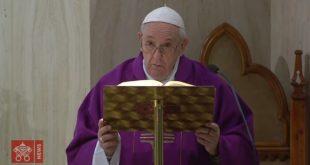 A oração do Papa Francisco pelos que choram