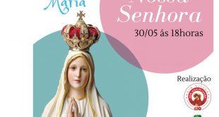 Está chegando a Live do 3º Tributo a Nossa Senhora (30 de maio)