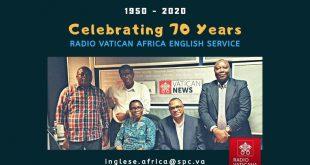 Rádio Vaticano comemora 70 anos de transmissões anglófonas na África.