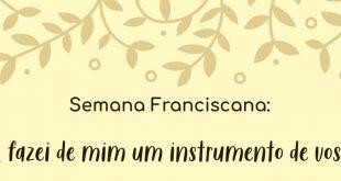Semana Franciscana  – on line (Convite Editora Vozes)