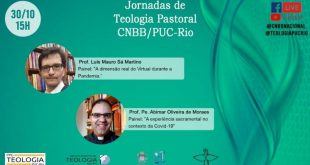 Live das Jornadas de Teologia Pastoral da CNBB