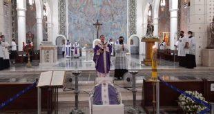 Santa Missa de corpo presente de Dom Bonifácio Piccinini