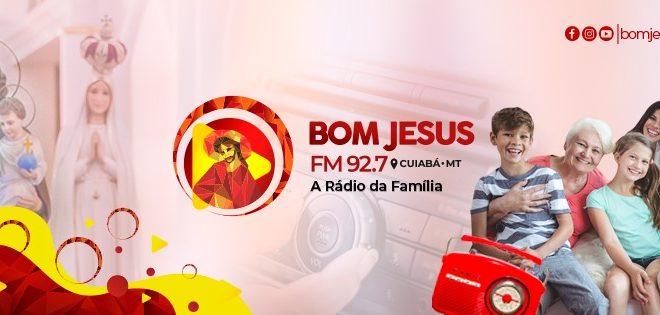 Rádio Bom Jesus FM 92,7 ocupa o 16º lugar de audiência (NET) em Mato Grosso