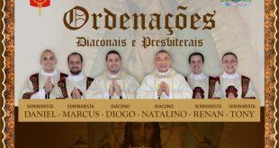 Transmissão on line – Celebração Eucarística das Ordenações Diaconais e Presbiterais