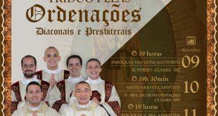 Tríduo em preparação as Ordenações Diaconais e Presbiterais