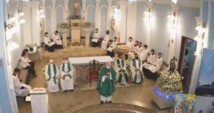 Agradecimento ao Padre Giulio Boffi (Pároco da Paróquia São Gonçalo)